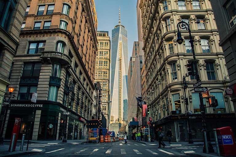 Local NYC street